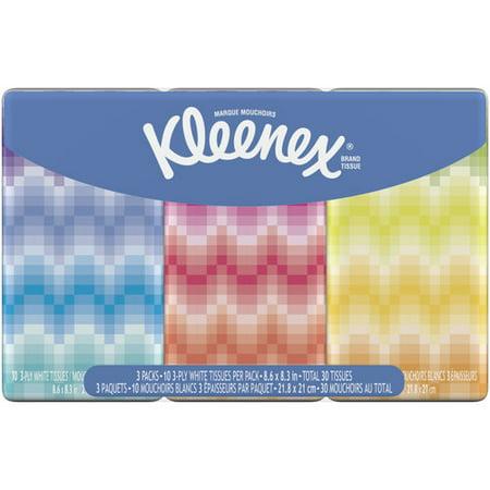 Kleenex 3 Pack Pocket Pack