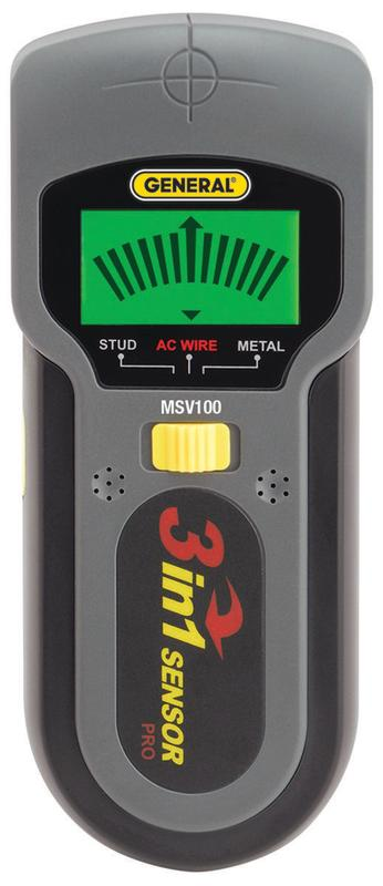 General Tools MSV100 Metal and Voltage Detector by General Tools