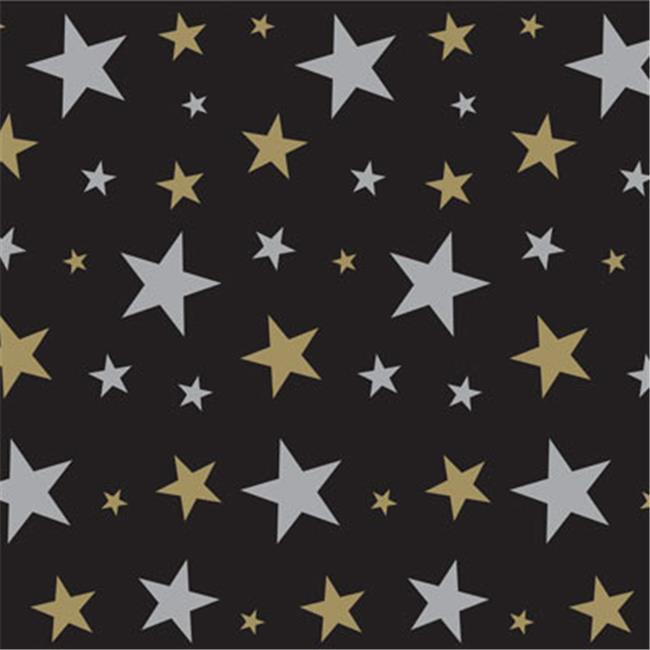 Beistle 52102 Star Backdrop, Pack Of 6