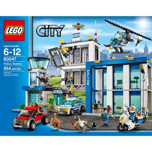 Lego City Police Station Building Set Walmart