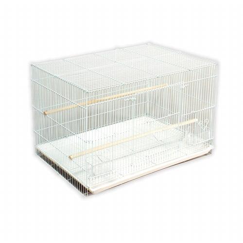Prevue Pet Products Flight Bird Cage, White, 1ct
