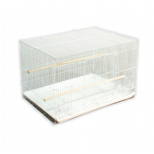 Prevue Pet Products Flight Bird Cage, White, 1ct