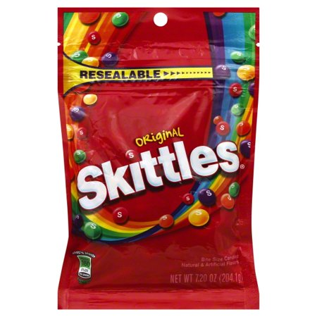 Skittles Original Bite Size Candies, 7.2 Oz. (Personalized Skittles)