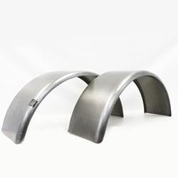 """Pair of Round Trailer Fenders (14""""-16"""" wheels)"""
