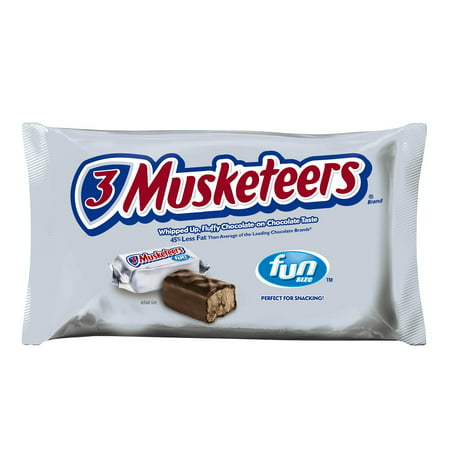 Image of 3 Musketeers Fun Size Candy Bars, 10.48 oz