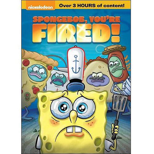 SPONGEBOB YOURE FIRED (DVD)