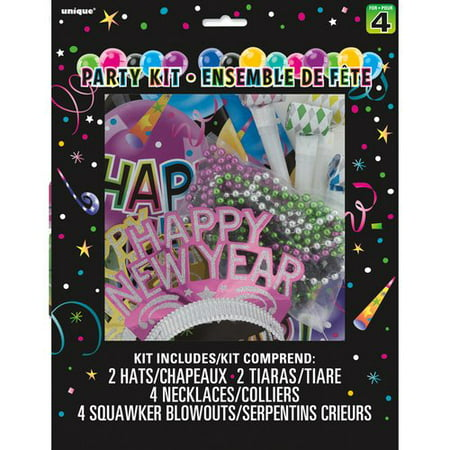 New Years Eve Party Kit for 4 - Walmart.com