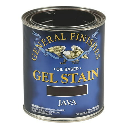 General Finishes, Gel Stain, Oil Based, Java, (Stained Oil)
