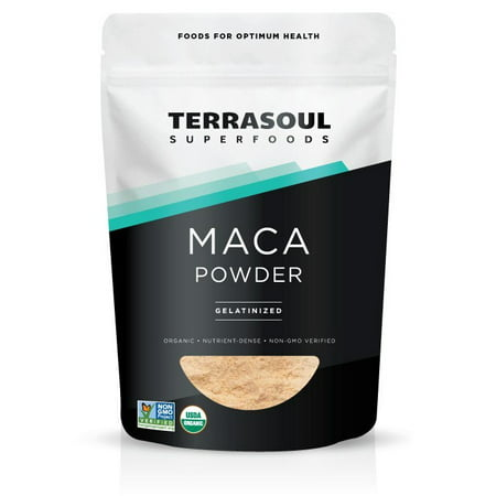 Terrasoul Superfoods Organic Gelatinized Maca Powder, 6.0