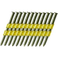 National Nail 0705471 Stick Collated Framing Nail, 0.131 in x 3 in, 22 deg, Steel