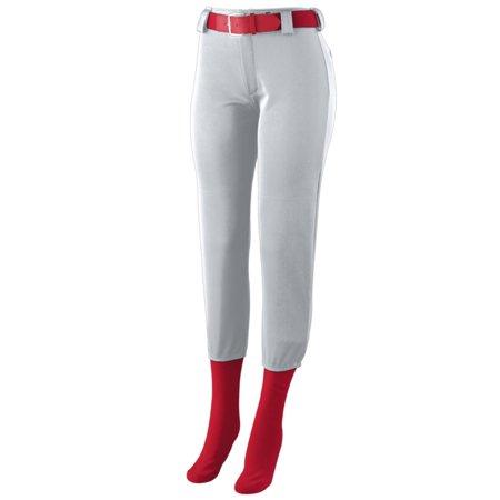 Augusta Ladies Low Rise Homerun Pant Sil Grey Xl - image 1 de 1