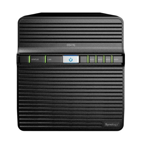 Synology 177765 Storage Ds416j Network Attached Storage Diskstation 4bay Marvell Armada 88f6828 Dual-core Diskless Retail