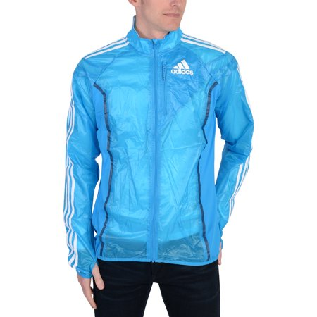 Adidas Mens Adidas Performance Climacool Pack It Track Top Light Blue