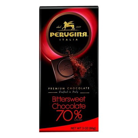Perugina Bittersweet Chocolate, 3 oz