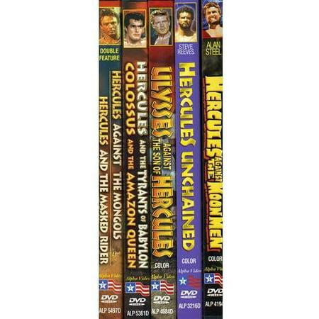 Alpha Sword - Sword And Muscleman, Volume 1 (5-DVD)