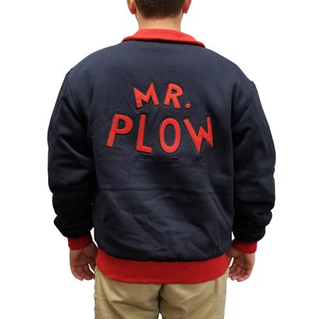 Mr. Plow Jacket Homer Simpson Simpsons Snow Removal Coat Costume Cosplay My Name](Lab Coat Cosplay)