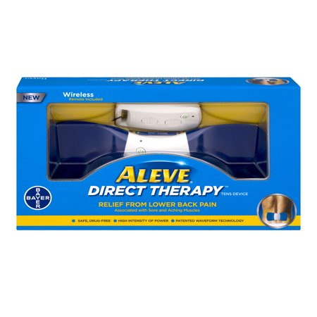 Aleve Direct Therapy Relief From Lower Back Pain  1 0 Ct