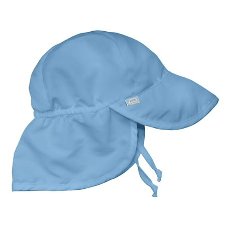 iPlay Solid Flap Sun Protection Hat - Light Blue (Toddler) - Walmart.com 0a9f992c1f58