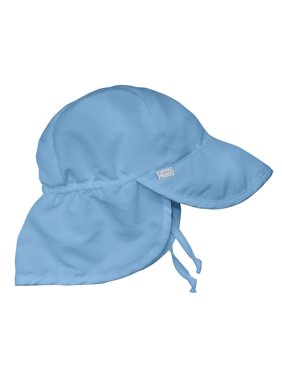 iPlay Solid Flap Sun Protection Hat - Light Blue (Infant)