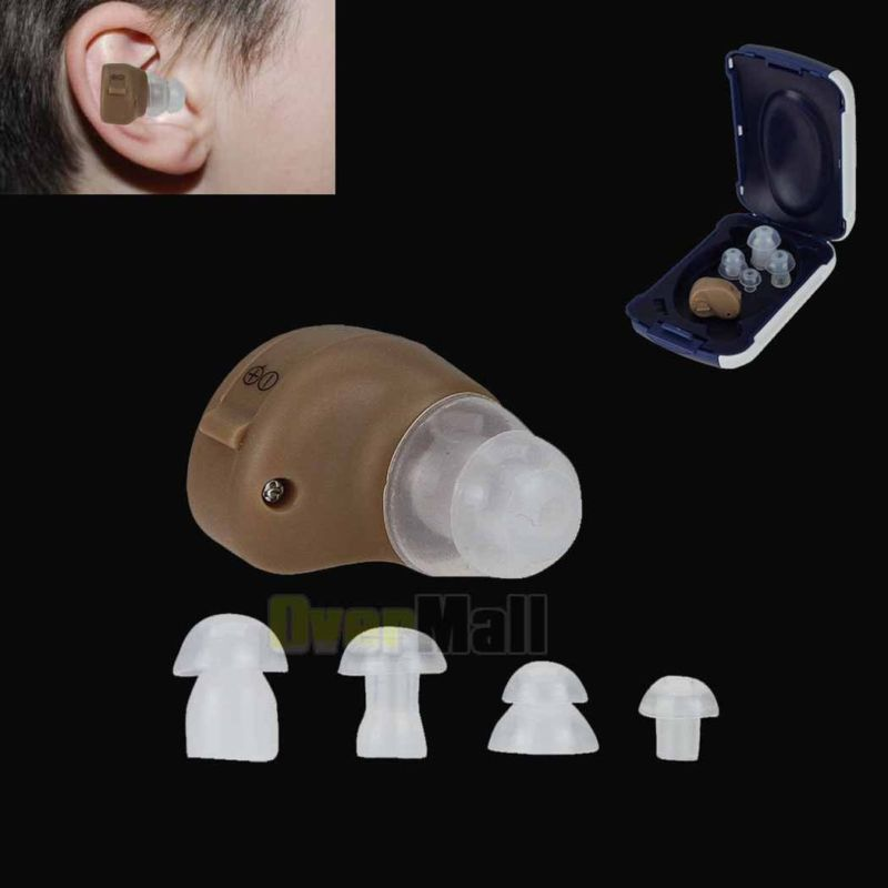 Small In The Ear Invisible Best Sound Amplifier Adjustable Tone Hearing Aids WIS