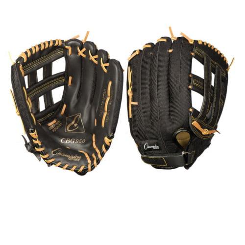 Youth Baseball/Softball Glove by Champion Sports - PE Series, Left - 13''