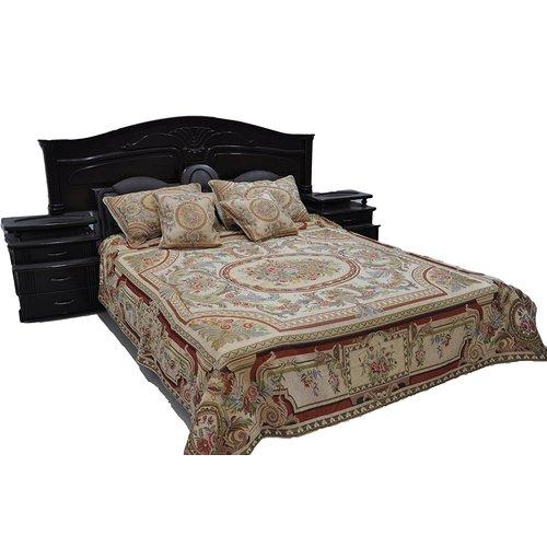 Tache Home Fashion Roman Garden Bedspread Set