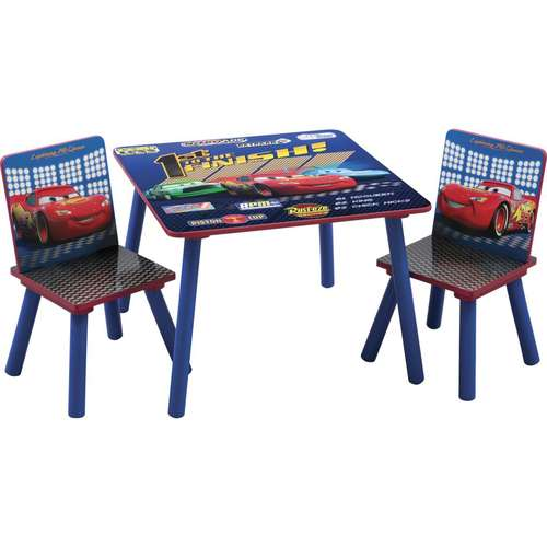 Disney - Pixar Cars Square Table and Chair Set