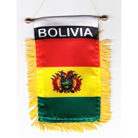 Bolivia Window Hanging Flag