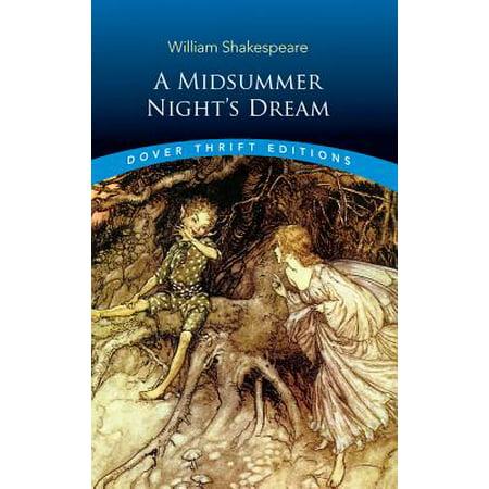 A Midsummer Night's Dream (Paperback) (Interesting Facts About A Midsummer Night Dream)