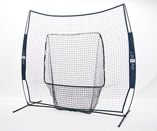Bownet Big Mouth Colors 7' x 7' Portable Training Net wit...