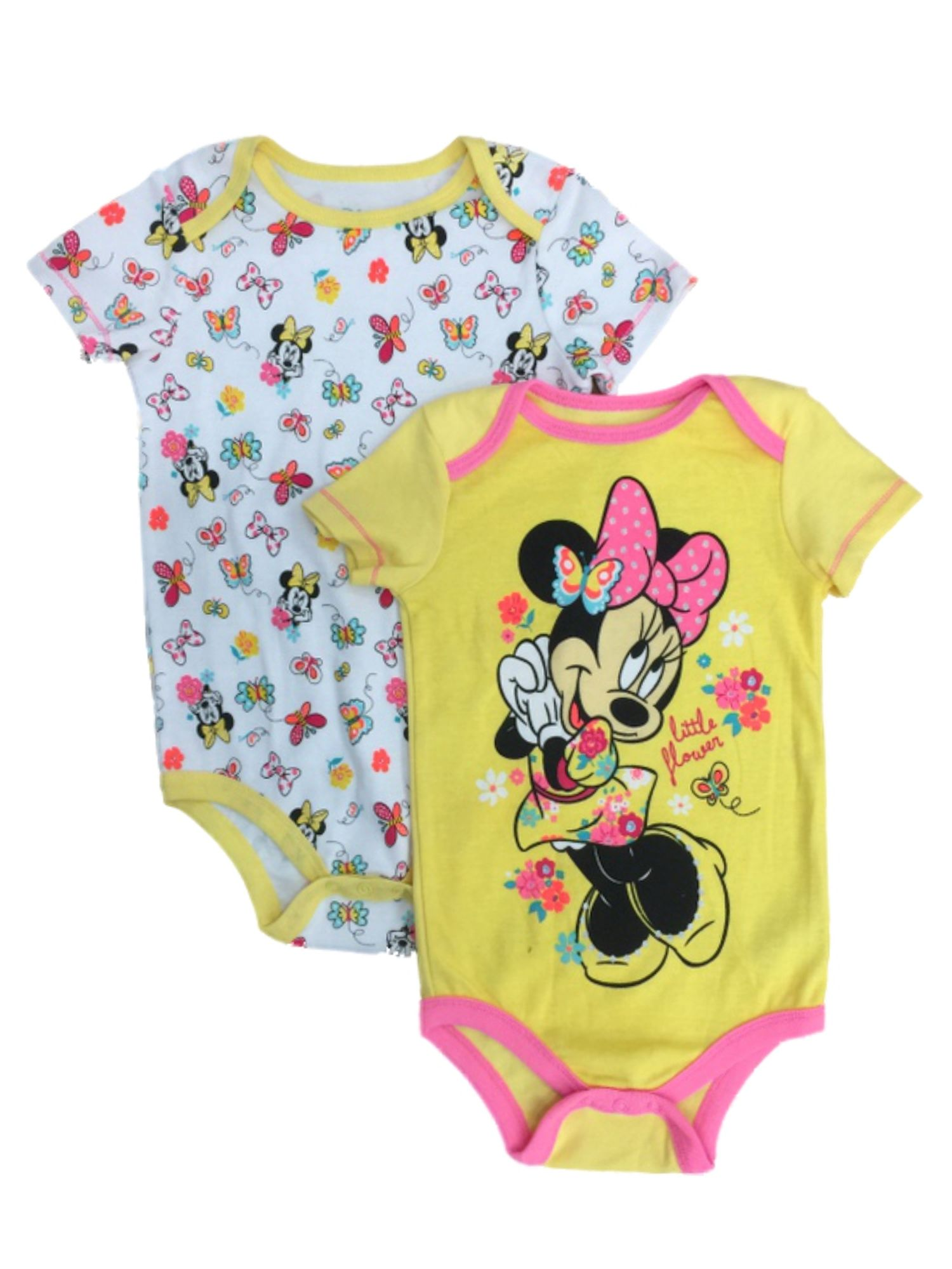 Minnie Mouse Onsie; Disney Onsie; baby; baby clothing; unisex baby; baby gift; Mickey Mouse;