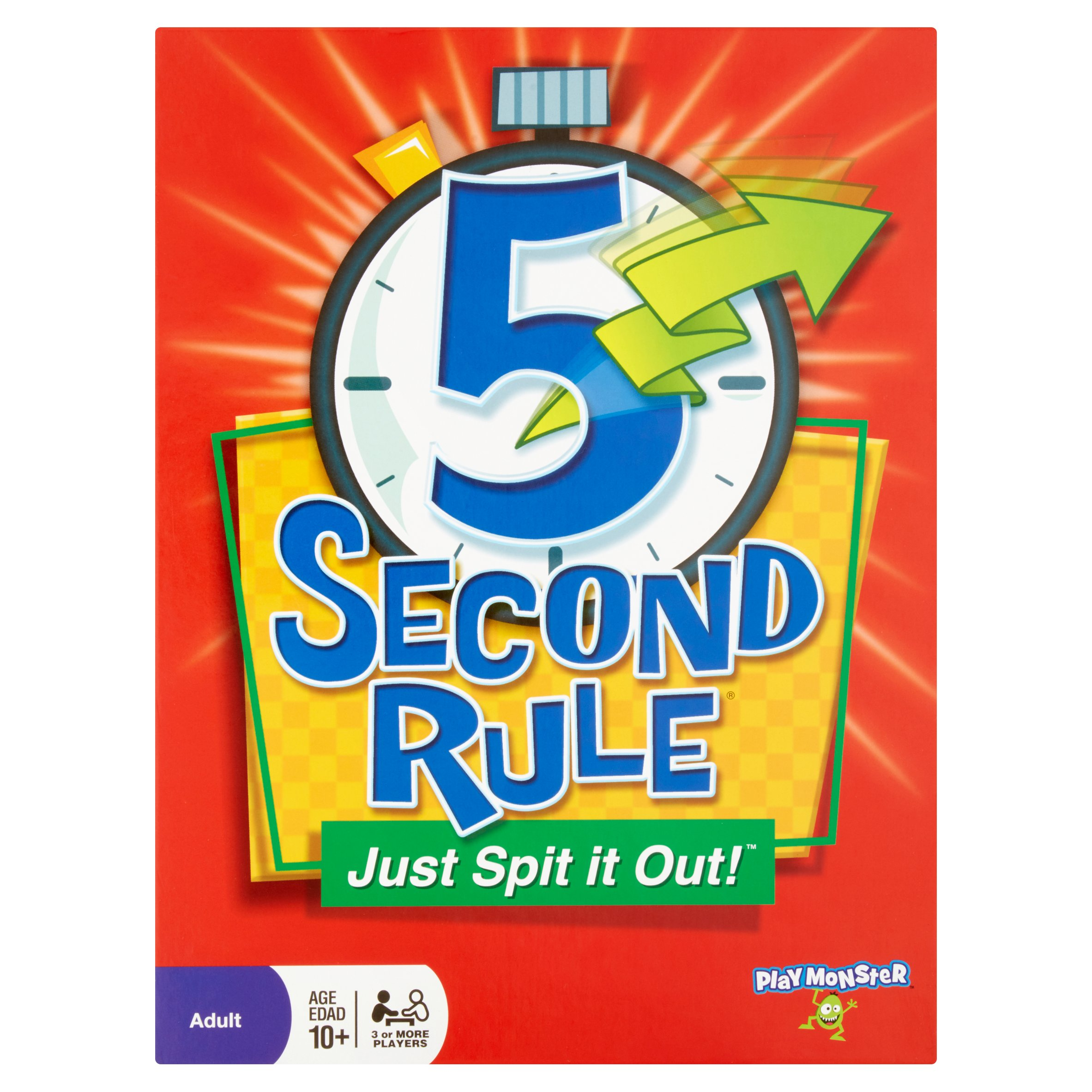 PATCH 5 Second Rule Board Game by PlayMonster LLC