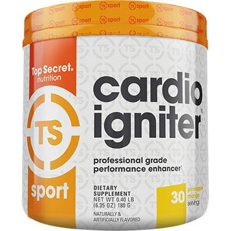 Top Secret Nutrition Cardio Igniter - 30 Portions ananas Mango (pré-entraînement)