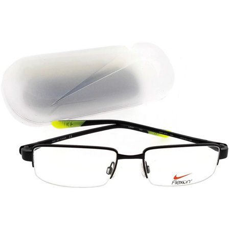 Nike NIKE 4275 (003) NIKE 4275 Eyeglasses - Trendy Optical Eyewear from  Nike. NIKE 4275 Eyeglasses in color Black/volt / Clear Lens (003) are available in size 53 mm.