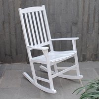Willow Bay Outdoor Rocking Chair, White