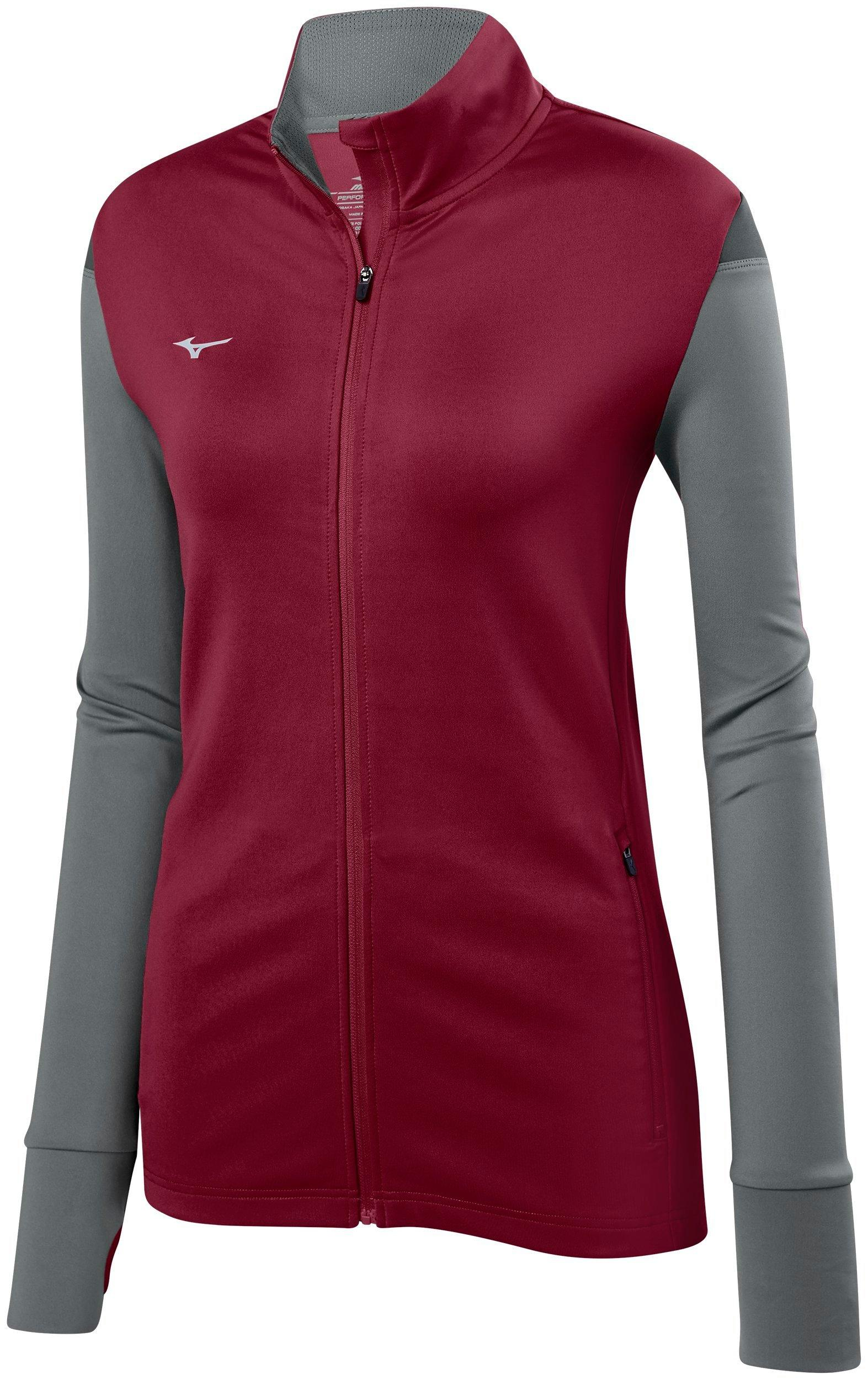 Mizuno Womens Volleyball Apparel Horizon Full Zip Volleyball Jacket 440660 by Mizuno