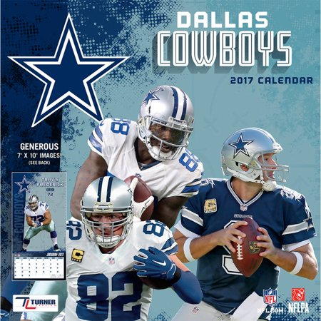 Turner Sports 2017 Mini Wall Calendar Dallas Cowboys Walmart