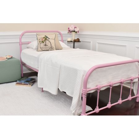 Rack Furniture Melissa Metal Bed, Twin, Multiple Colors