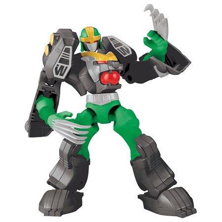 Dino Charge - Mixx N Morph Mighty Morphin Green Tiger Rangerzord Action Figure, Take down evil monsters with the help of the Power Rangers Mixx N Morph Mighty.., By Power Rangers Ship from US