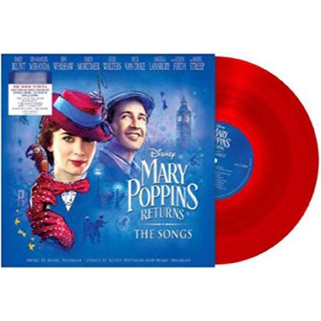 Mary Poppins Returns The Songs Soundtrack Red Translucent ()