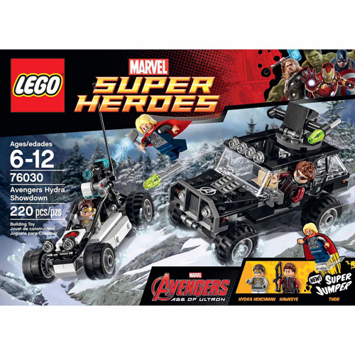 LEGO Super Heroes Avengers Hydra Showdown