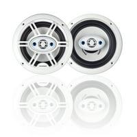 Blaupunkt GTM652W Car Speaker 6.5 Inch 4-Way Marine White Color