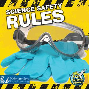 Science Safety Rules - eBook - Five Safety Rules For Halloween