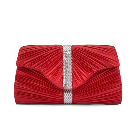 Gunne Sax by Jessica McClintock Emilia Pleated Clutch