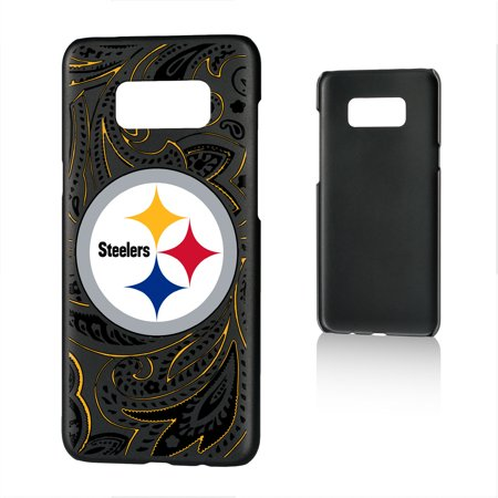 Pittsburgh Steelers Galaxy Slim Paisley Design Case