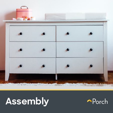 Afg Convertible Changing Table (Changing Table Assembly by Porch Home Services )