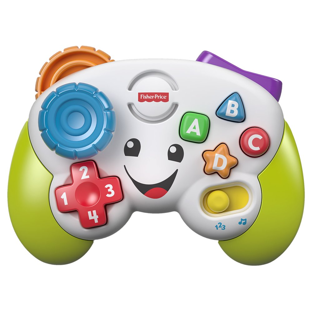 Fisher-Price Laugh & Learn Colorful Game & Learn Controller