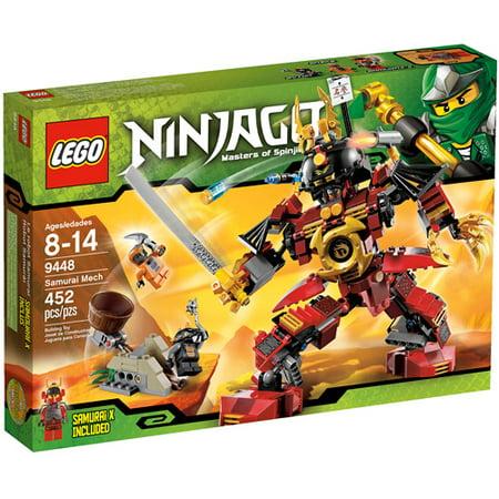 Lego Ninjago Samurai Mech 9448 Play Set