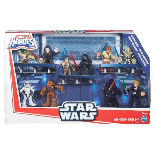 Hasbro HSBB6068 Star War Galactic Heroes Rivals, Pack of 4 by Hasbro