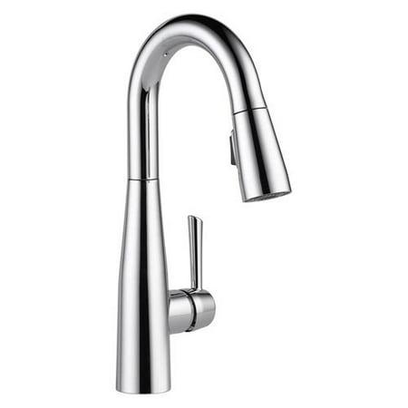 - Delta Essa: Single Handle Pull-Down Bar / Prep Faucet